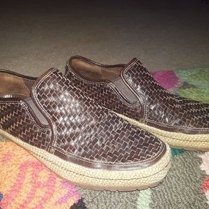 Cole Haan mens leather loafers Nike air